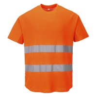 T-shirt aéré orange PORTWEST